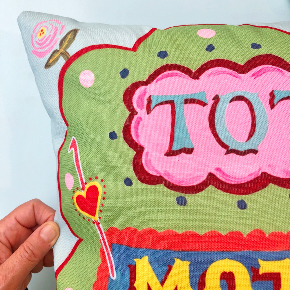 Total mother fluffer cushion